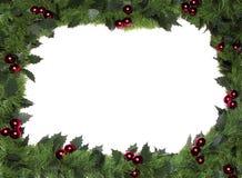 边界圣诞节框架 免版税库存照片