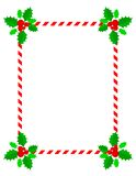 边界圣诞节框架 免版税库存图片