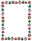 边界圣诞节节假日装饰品 免版税图库摄影