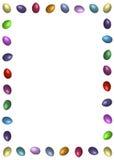 边界复活节彩蛋 向量例证