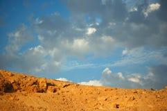 边界天空 免版税图库摄影