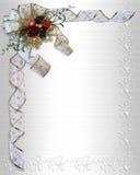 边界弓圣诞节丝带