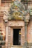 边界柬埔寨寺庙 库存照片