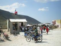 边界海地人 免版税图库摄影