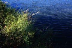 边界湖 免版税库存图片