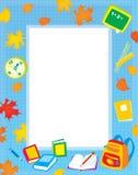 边界照片您的学校课文 库存图片