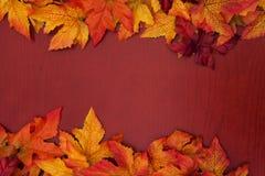 边界秋天 库存图片