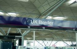 边界英国 免版税图库摄影