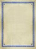 边界装饰设计葡萄酒 免版税库存图片