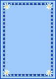 边界雏菊框架 免版税图库摄影