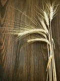边界麦子 免版税库存照片