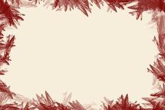 边界flowerish 免版税图库摄影