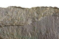 边缘平面的岩石垫脚石 免版税库存图片