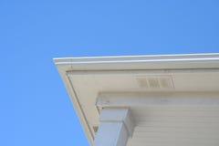 边缘房子屋顶 免版税图库摄影