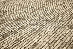 边路的摊铺机 免版税图库摄影