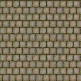边路石纹理盖瓦 库存图片