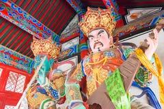 辽宁,中国- 2015年8月05日:在实胜寺的Budda雕象 库存图片