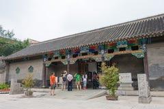 辽宁,中国- 2015年8月01日:法警张家大院(Zhangshis 免版税库存照片