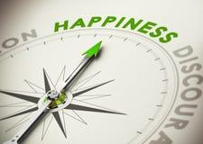 达到幸福概念 免版税库存图片