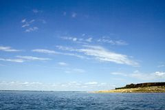 达可它湖北部sakakawea 免版税库存照片