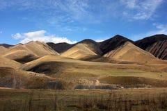 达吉斯坦山 免版税库存图片