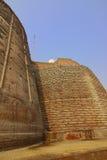 巴廷达堡垒墙壁 库存图片