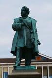 达妮埃尔Manin著名雕象,威尼斯,欧洲 免版税库存照片