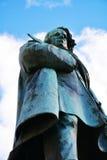 达妮埃尔Manin雕象在威尼斯,欧洲 免版税图库摄影