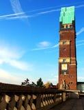 达姆施塔特:在Mathildenhoehe的婚礼塔 免版税库存图片