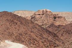 达娜生物圈储备,约旦,中东 免版税库存图片