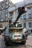 达娜152短程高射炮 免版税库存照片