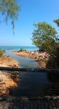 达尔文海滩3 免版税库存图片