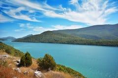 达尔马希亚海岸克罗地亚 免版税库存图片