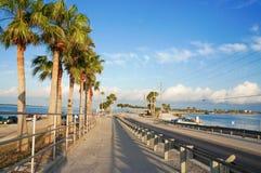 达尼丁堤道,佛罗里达,美国 免版税库存图片