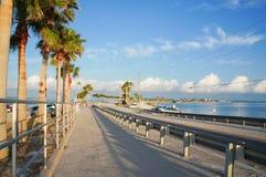 达尼丁堤道,佛罗里达,美国 库存图片