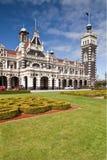 达尼丁火车站新西兰 免版税库存图片