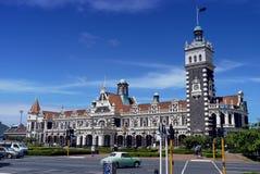 达尼丁火车站,新西兰 图库摄影