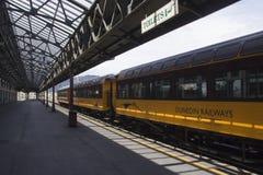 达尼丁火车站,新西兰 免版税库存照片