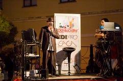 达尼洛Daita -兰恰诺世界纪录2014年 图库摄影