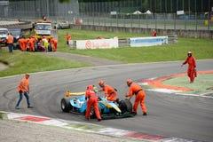 达拉拉GP2方程式赛车 免版税库存图片