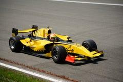 达拉拉GP2方程式赛车 库存图片