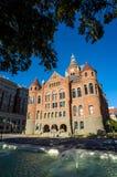 达拉斯县法院大楼 图库摄影