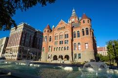 达拉斯县法院大楼 库存图片
