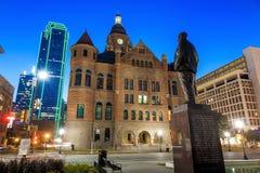 达拉斯县法院大楼 免版税库存图片