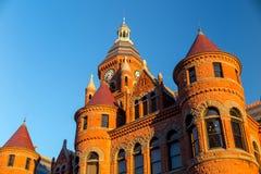 达拉斯县法院大楼 免版税库存照片