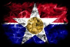 达拉斯市烟旗子,伊利诺伊状态,美利坚合众国 皇族释放例证