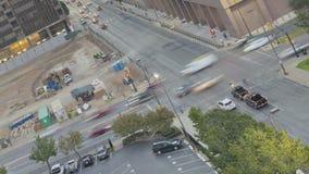 达拉斯日出街市交通 股票视频
