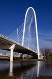 达拉斯桥梁 免版税库存图片