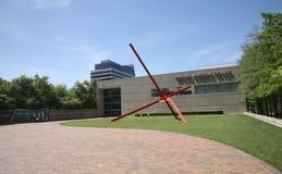 达拉斯艺术馆大门 免版税库存照片