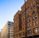 达拉斯街市摩天大楼 免版税库存照片